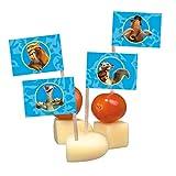 Susy Card 40000374 - Partypicker, Flaggen, Ice Age, 20 Stück