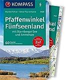 KOMPASS Wanderführer Pfaffenwinkel, Fünfseenland, Starnberger See, Ammersee: Wanderführer mit Extra-Tourenkarte 1:60.000, 60 Touren, GPX-Daten zum...