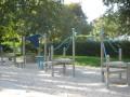 Spielplatz am Nachmittag.