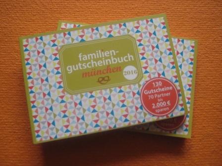 familiengutscheinbuch münchen