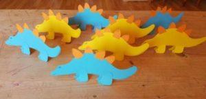 Einladungen zur Dinoparty