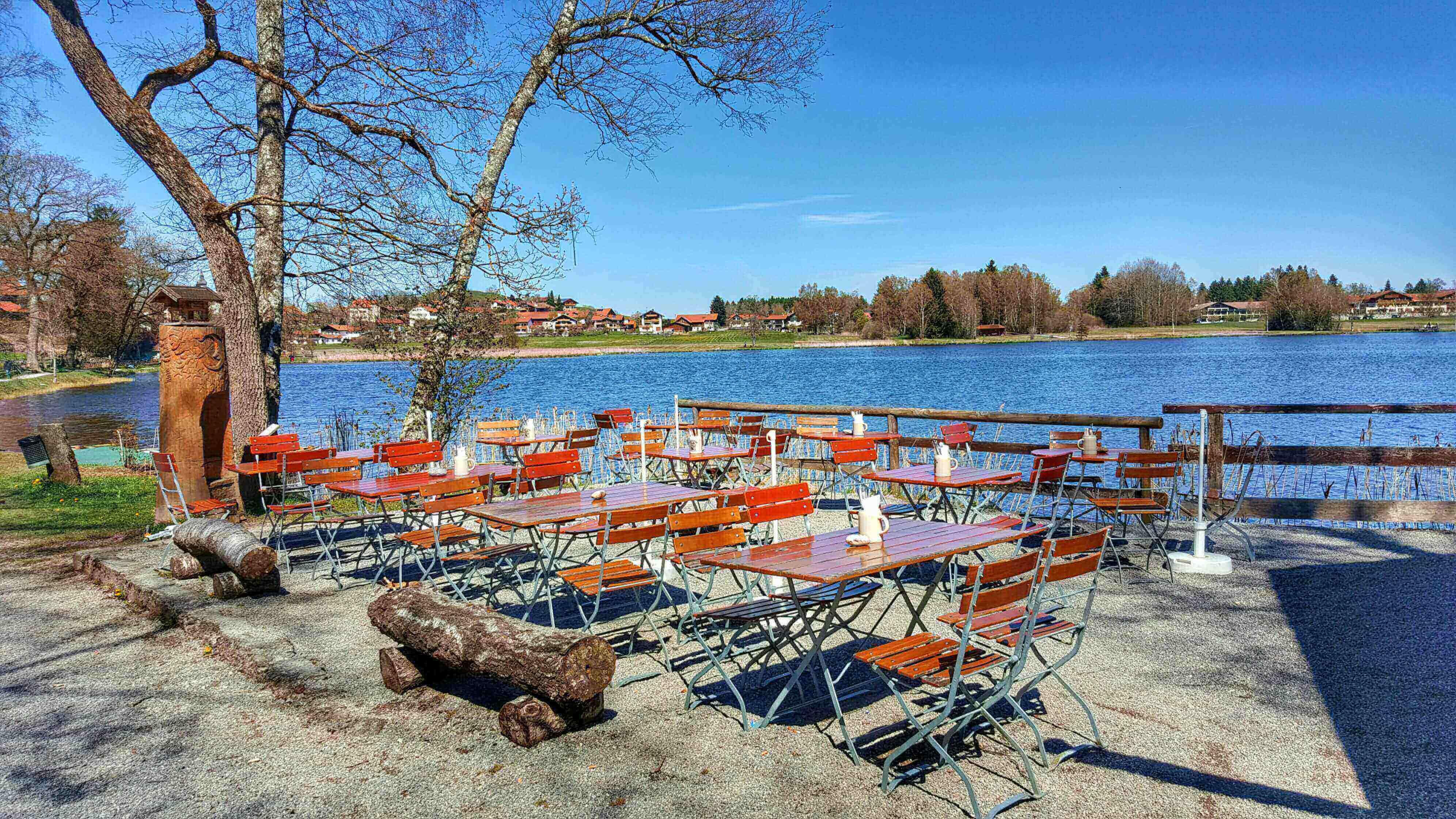 Idyllische Wanderung Mit Kinderwagen Um Den Soier See