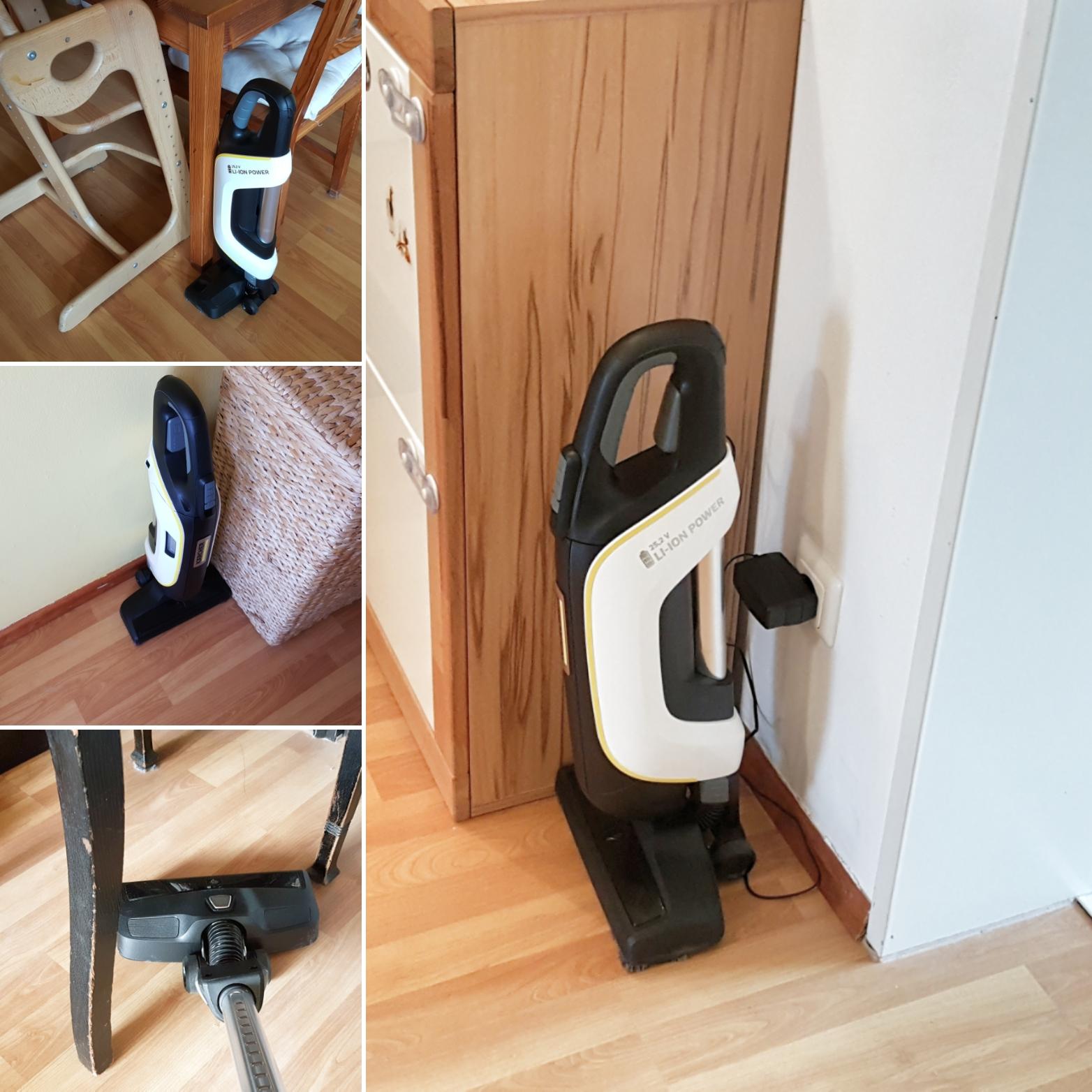 kompakt kabellos und komfortabel der akku staubsauger vc5 cordless von k rcher im test. Black Bedroom Furniture Sets. Home Design Ideas