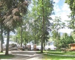 Das Seerestaurant Alpenblick besticht durch die tolle Lage.