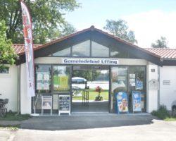 Der Kiosk des Gemeindebads lockt auch Wanderer