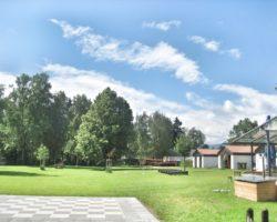 So leer ist das Gemeindebad in Uffig selten