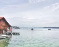 Traumhaft, der Blick auf den Starnberger See.
