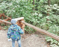 Holzkugelbahn in Glentleiten