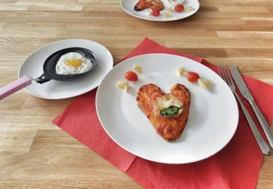 Valentinstagsmenü für Familien