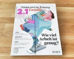 SZ Familie – Titelthema ist Lieblingsthema