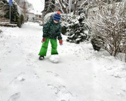 9 Monate Weilheim_Schneespaß
