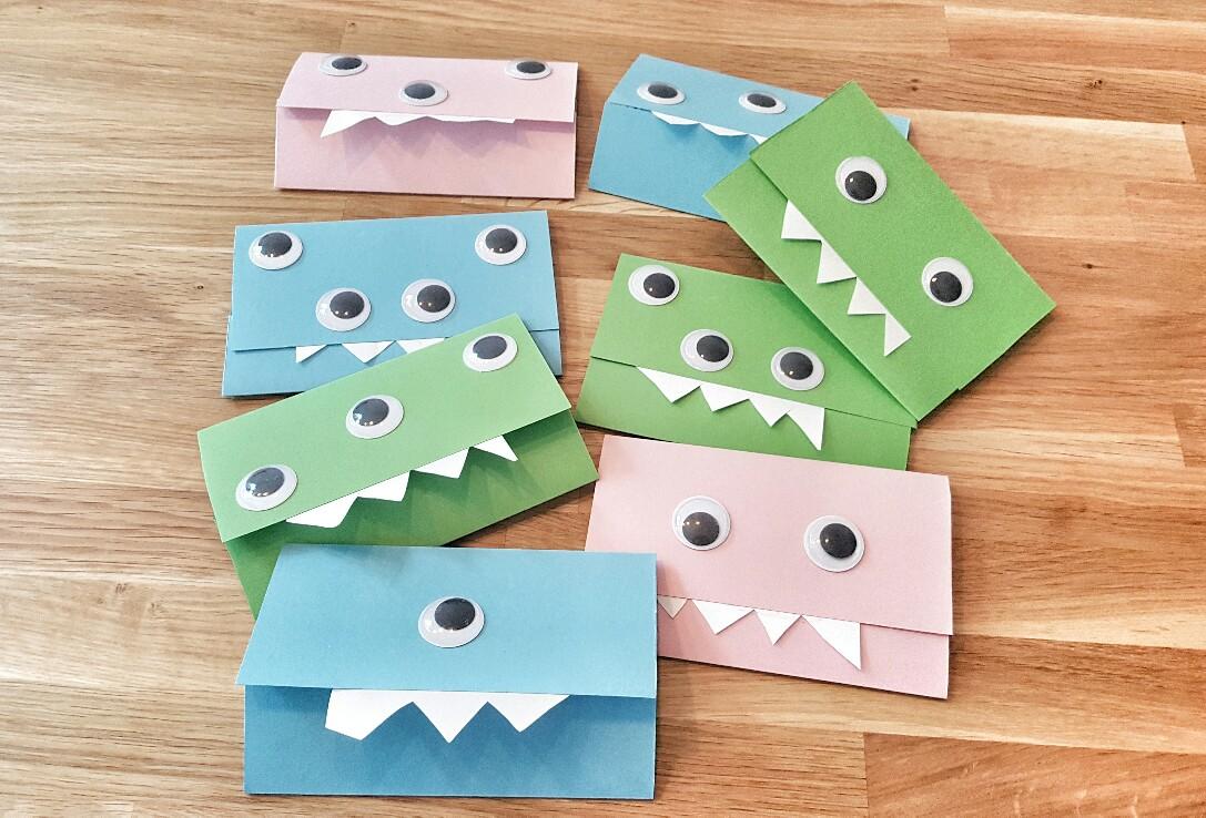 Monsterparty Kindergeburtstag Einladungen