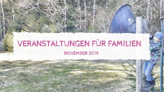 Veranstaltungen Familien November 2019