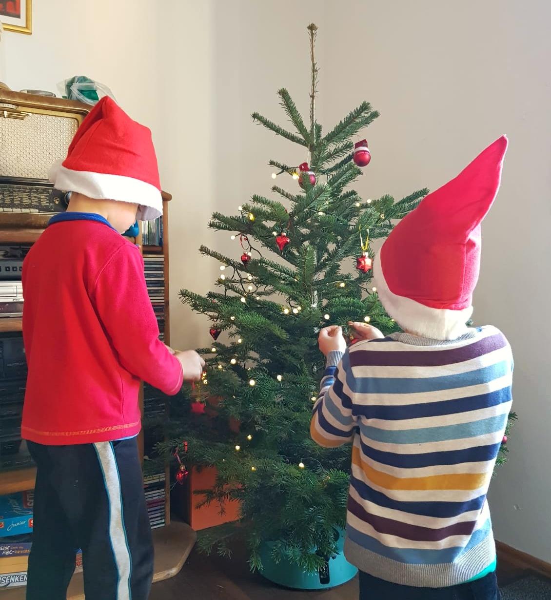 Weihnachten mit Kindern feiern