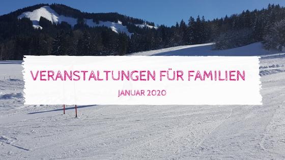 Veranstaltungstipps Januar 2020