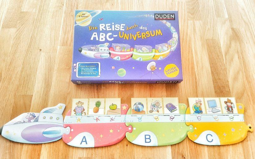 ABC-Lernen mit dem Universum