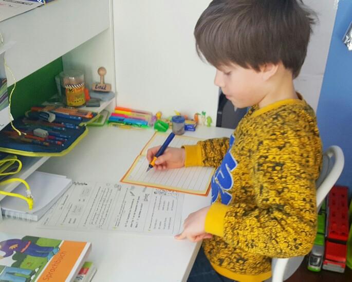 Kinder zuhause unterrichten