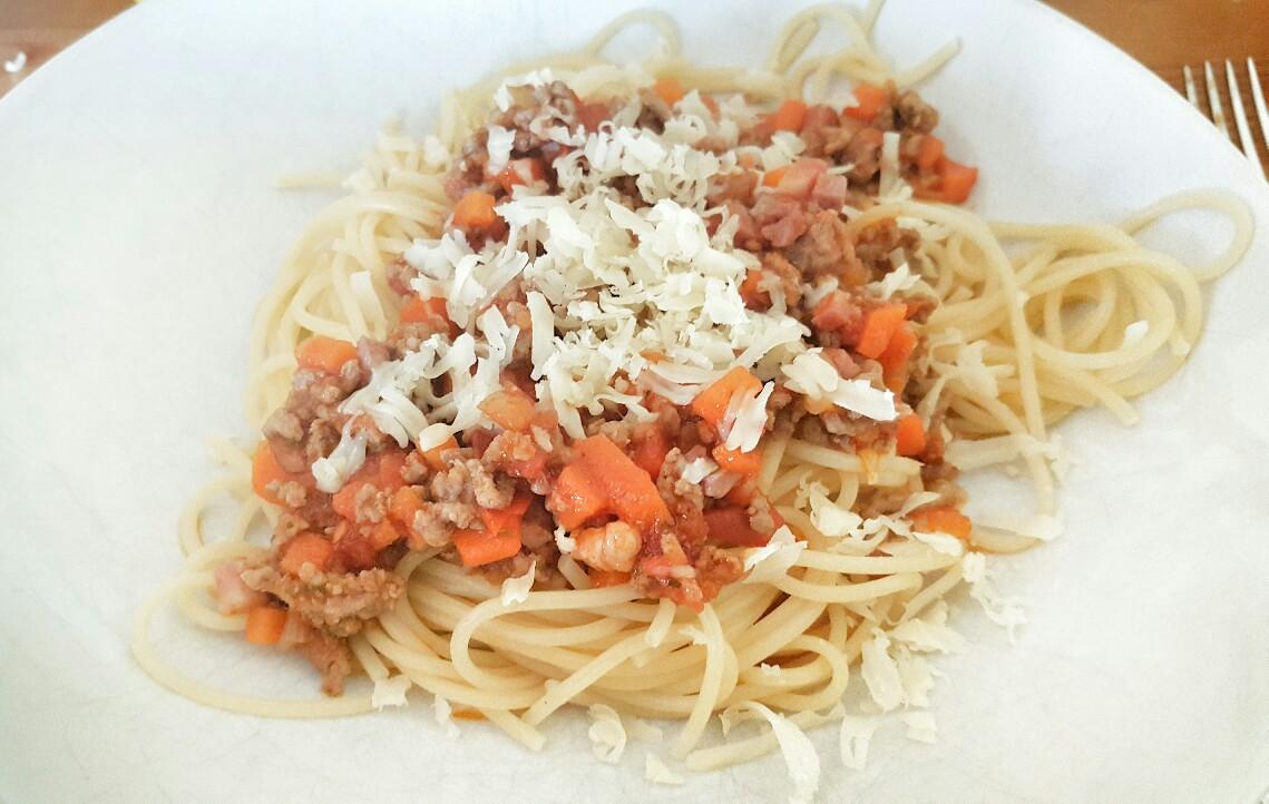 Schnelle Bolognese für Kinder: Spaghetti Bolognese