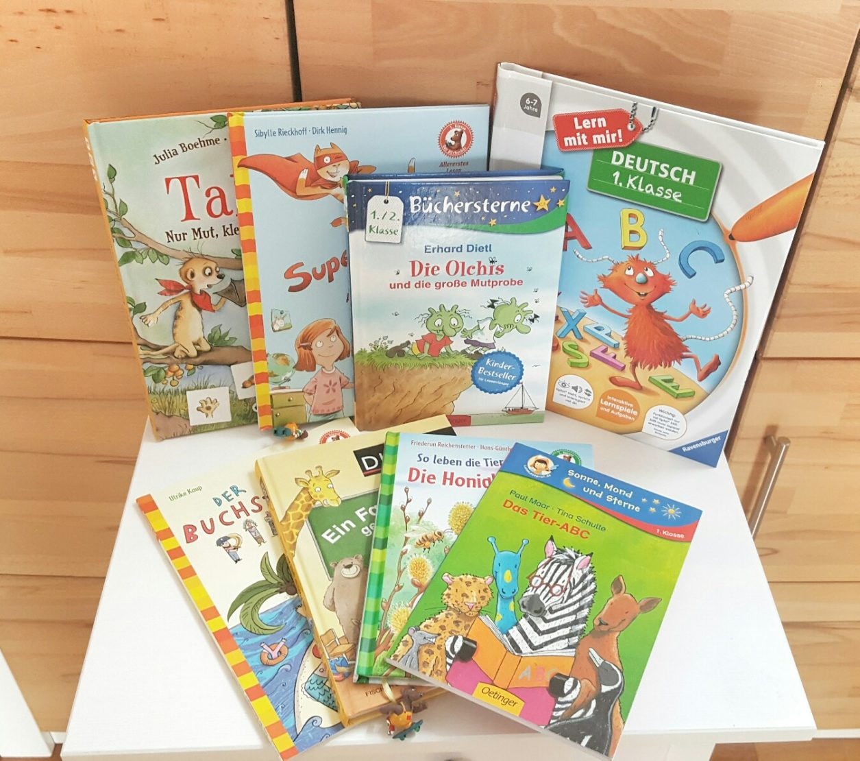 Empfehlungen Bücher für Leseanfänger