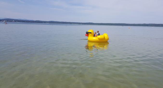 Starnberger See Baden mit Kindern
