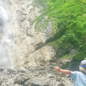 Ohlstadt Wasserfall faszinierend