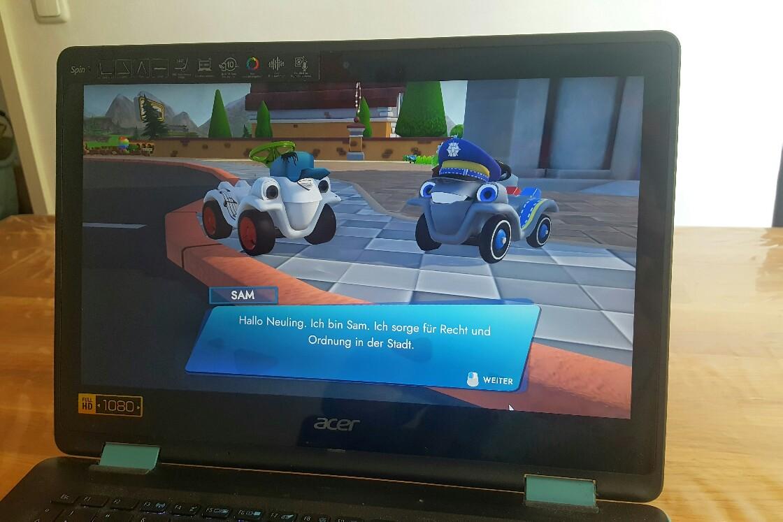 BIG Bobby Car Videospiel Geschichte
