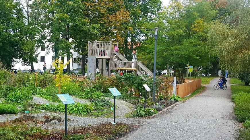Kräuterpark Bad Heilbrunn Spielplatz