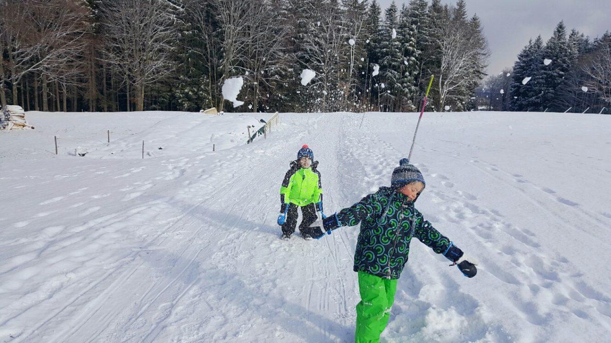 Ausflüge mit Kindern im Winter
