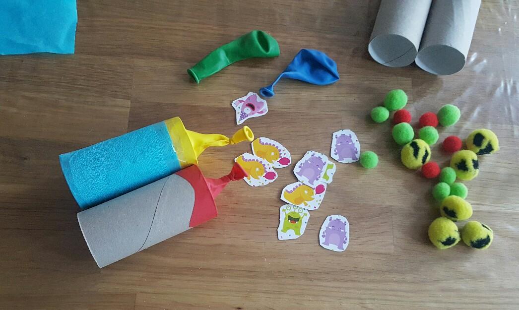 Krepp-Papier zum Verzieren