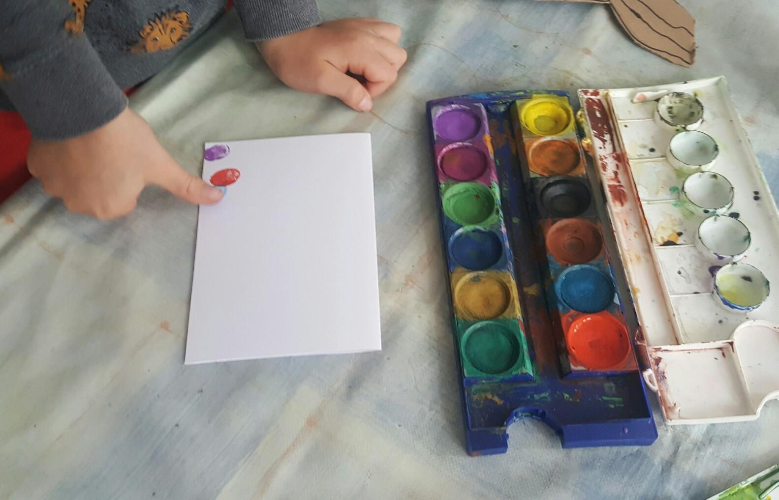 Ostergrüße mit Wasserfarben gestalten