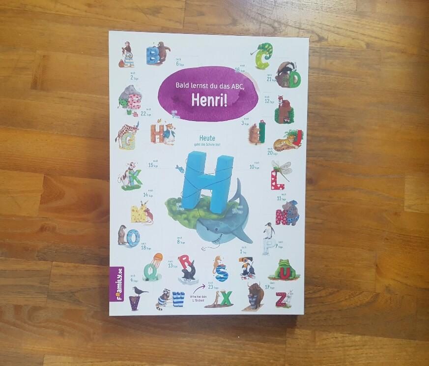 Schulstart-Kalender zum Schulanfang
