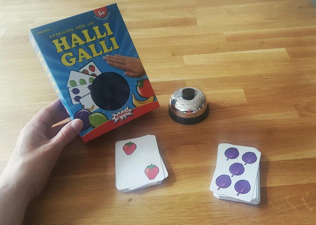Halli Galli - Spiele für die Ferien