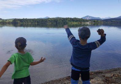 Riegsee mit Kindern - Rundweg am See